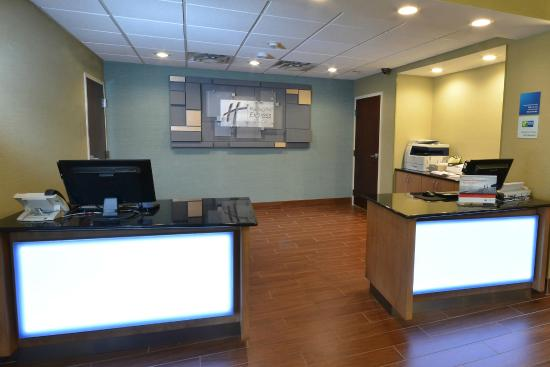 Holiday Inn Express & Suites High Point South: Welcome to our front desk.