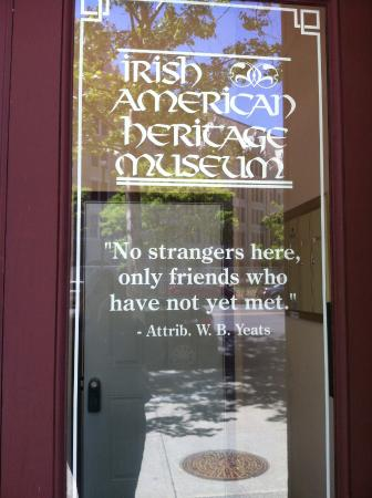 The Irish American Heritage Museum