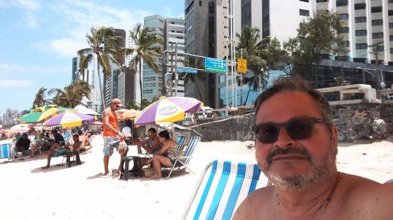 Grand Mercure Recife Boa Viagem: BEACH AREA IN FRONT