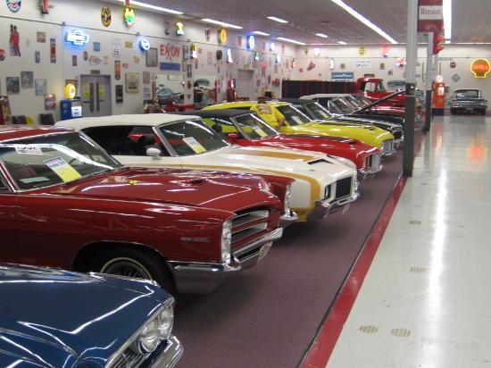 Ein Kleiner Ausschnitt Picture Of Muscle Car City Museum Punta