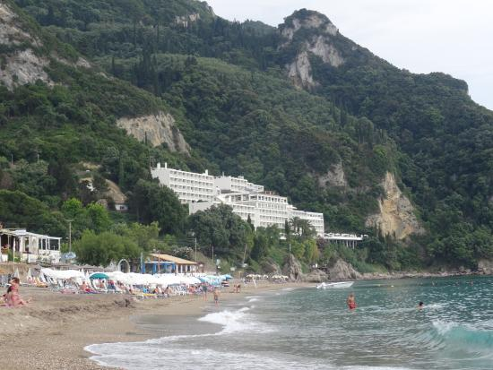 Aquis Agios Gordios Beach Hotel Website