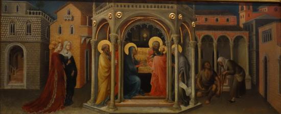 Italian Florence: Gentile Da Fabriano: Presentation In The Temple