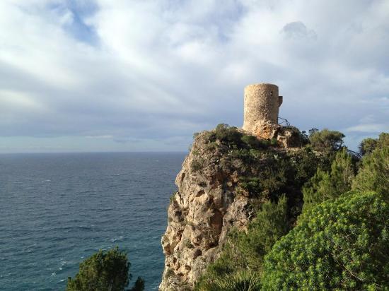 Banyalbufar, Ισπανία: вид на башня
