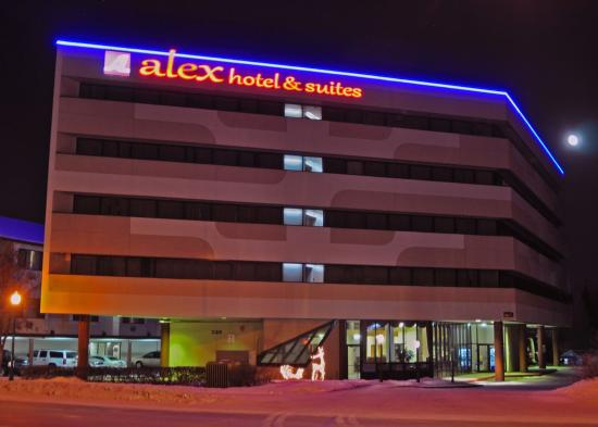 Night view of Alex Hotel & Suites