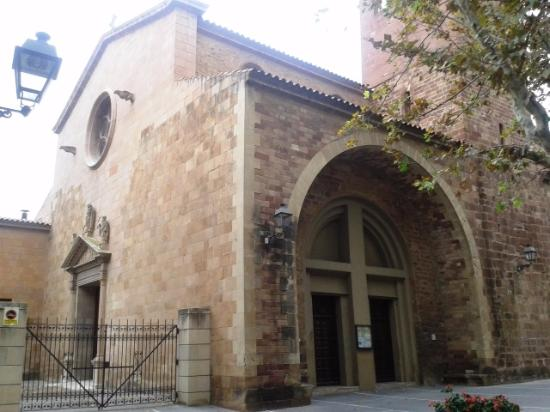 Martorell, Spain: Vista parroquia