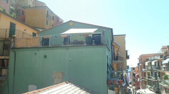 Riomaggiore, Italy: Piazza Vignaiolo