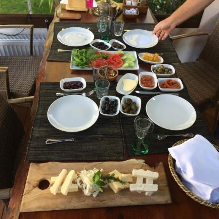 Kirazli, Turchia: Frühstück