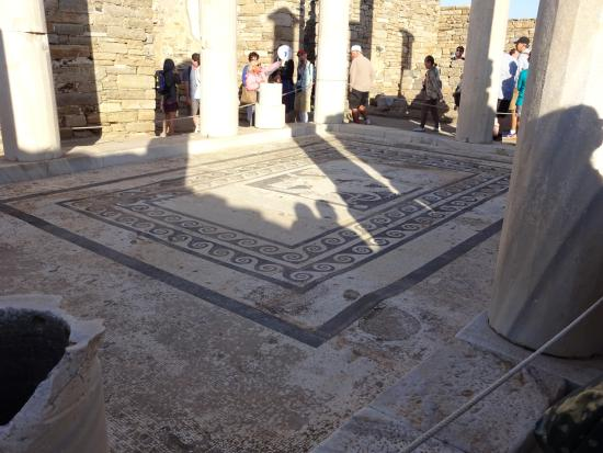 Great Room in House of Dionysus, amazing floor mosaic