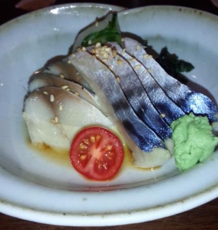 Daiki Japanese Restaurant: sashimi saba