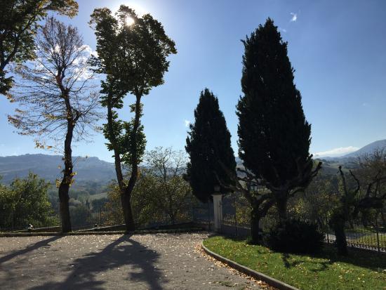 Relais Villa Fornari Hotel Ristorante: panorama