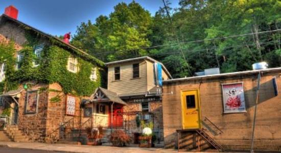 Jim Thorpe, PA: The Victor Stabin Gallery is house in an old wireworks factory