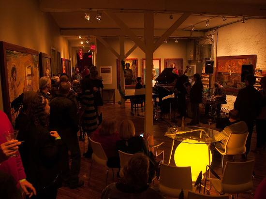 Jim Thorpe, PA: A Jazz Event at the Victor Stabin Gallery