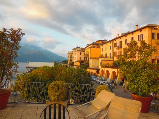 Hotel Metropole Bellagio: View from terrace looking north