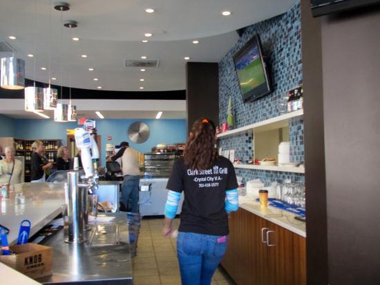 Clark Street Grill In Crystal City Arlington Va