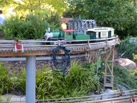 Miniature trains picture of atlanta botanical garden - Atlanta botanical garden membership ...