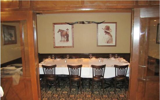 Plaza III The Steakhouse : Private Room