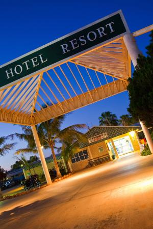Potshot Resort: Potshot Hotel Resort Reception