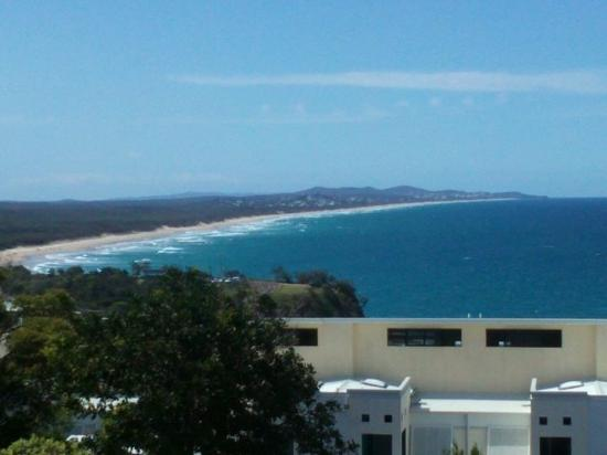 Coolum Beach, Australia: The view from our deck
