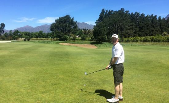 Pearl Valley Jack Nicklaus Signature Golf Course: Middle of the fairway