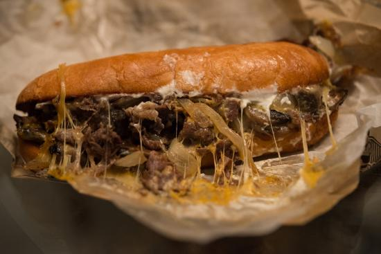 Vera's Burger Shack: Philly Cheesesteak.