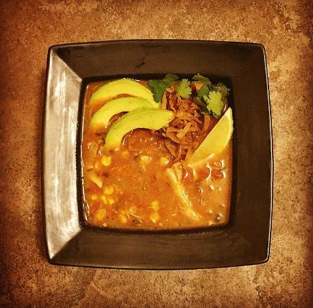 Elkhart Lake, WI: Chicken Enchilada Soup