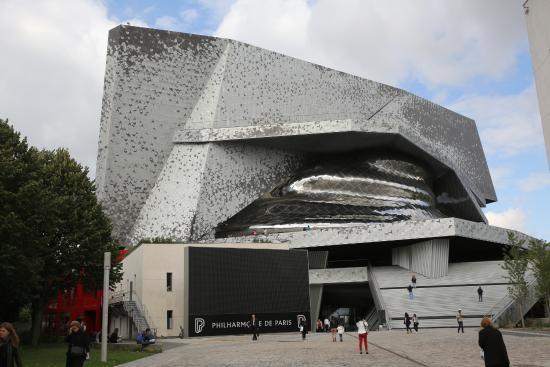 paris philharmonie de paris architecte jean nouvel picture of philharmonie de paris. Black Bedroom Furniture Sets. Home Design Ideas