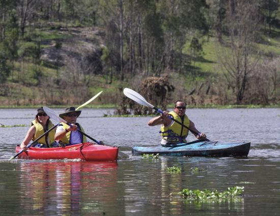 Weltevreden Domes Retreat: Kayaking and canoeing can be organised with an offsite provider