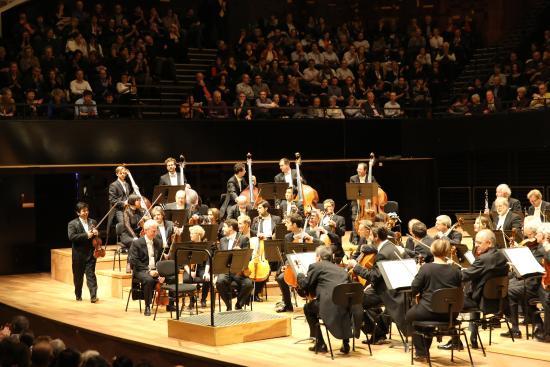 Paris Orchestre Philharmonique De Berlin A La Philharmonie De Paris