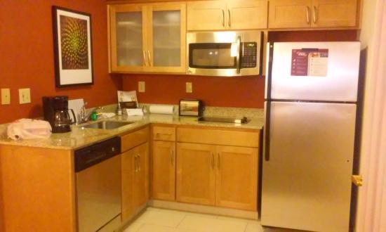 Kitchen Picture Of Residence Inn Sacramento Airport Natomas Sacramento Tripadvisor