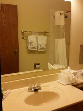 Baymont Inn & Suites Spearfish : guest bath