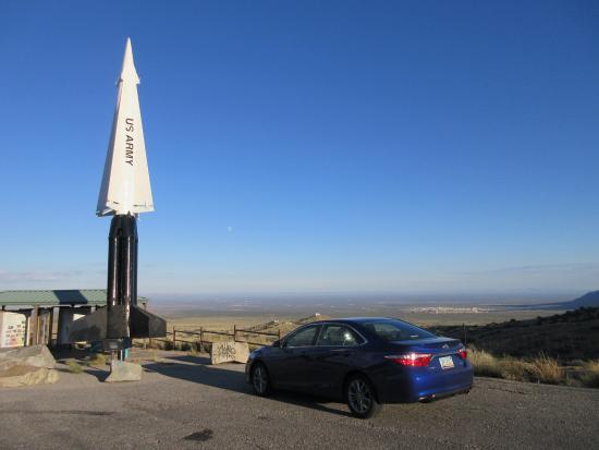 San Agustin Pass: parking at pass