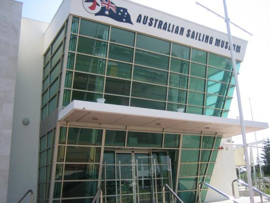 Australian Sailing Museum: 外観