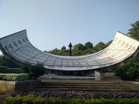Si Sawat, Thailand: The Sundial
