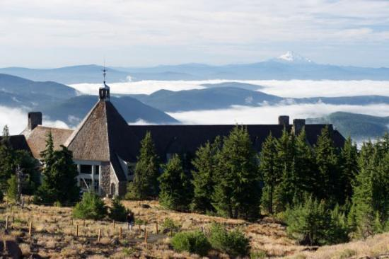 Beautiful Morning Views Picture Of Timberline Lodge