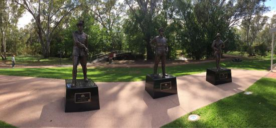 Victoria Cross Memorial in Euroa