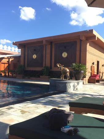 Bagan Lodge pool area - fabulous!