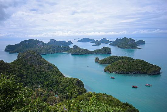 จากจุดชมวิว - Picture of Ko Wua Talap Island, Ang Thong - TripAdvisor