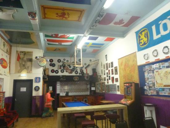 Belford Hostel: sala comune