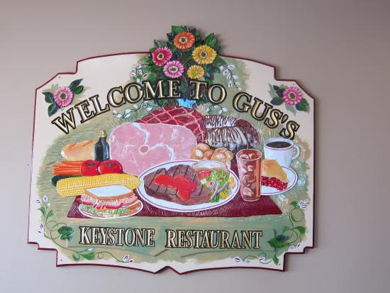 Gus S Keystone Family Restaurant At Ephrata Menu