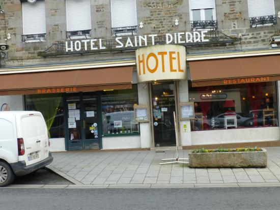 Hotel Saint - Pierre : Entrée du restaurant