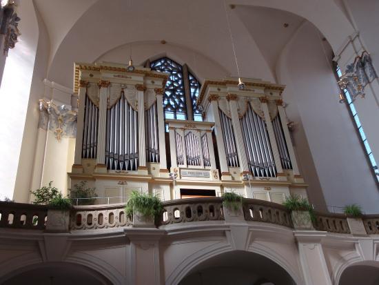 Brno, Tjekkiet: вид на орган