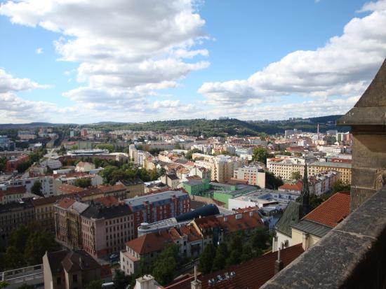 Brno, Tjekkiet: вид с колокольни