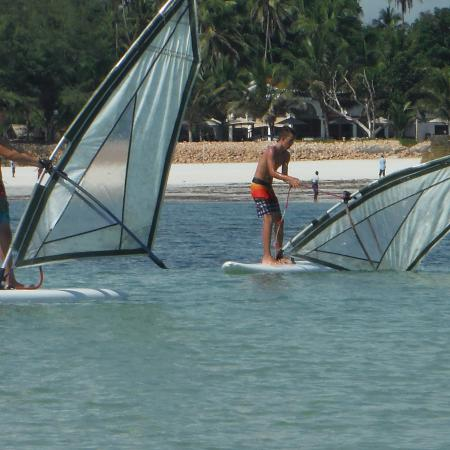 Neptune Palm Beach Boutique Resort & Spa All Inclusive: wind surfing