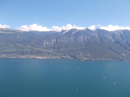 La terrazza del brivido - Picture of Lago di Garda, Garda ...