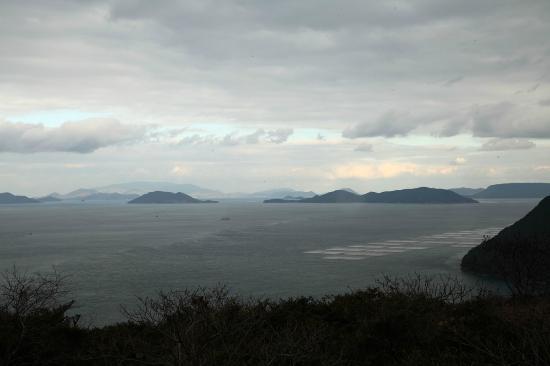 Cape Osaki-no-Hana: 瀬戸内海に向いた鼻