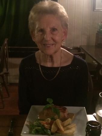 Hook, UK: Happy Birthday mum