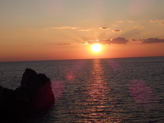 Portovenere sunset - Picture of Residence Le Terrazze, Porto Venere ...
