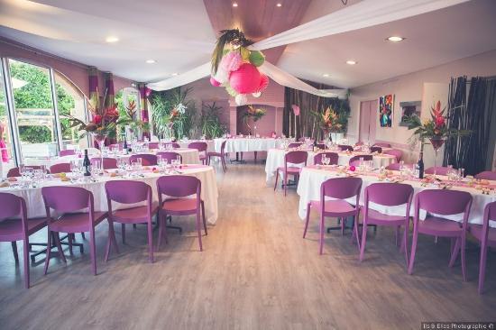 notre salle terrasse d cor e mariage photo de manoir du. Black Bedroom Furniture Sets. Home Design Ideas