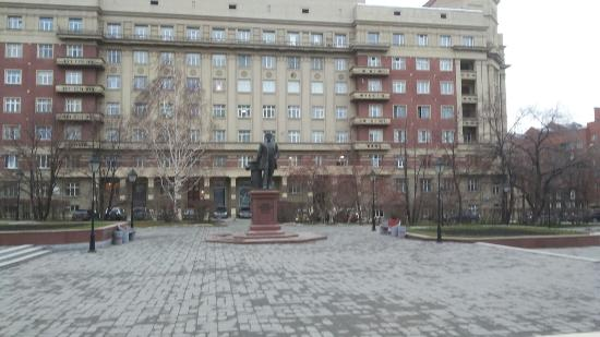 Monument to Architect Kryachkov