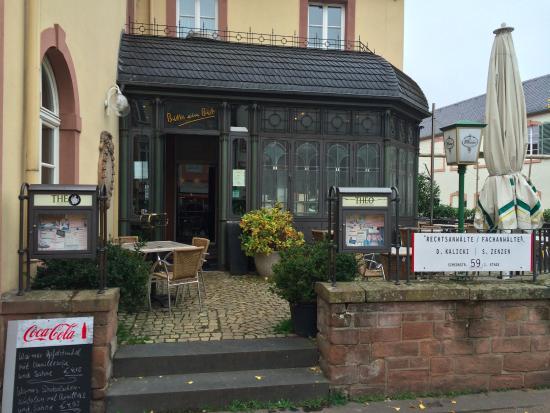 Ресторан с видом на Порто Нигро. - Picture of Theo, Trier ...
